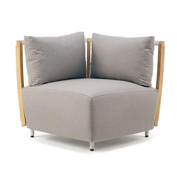 Swing – Modulo angolo - Modulo angolare per divano modulare Swing Ethimo