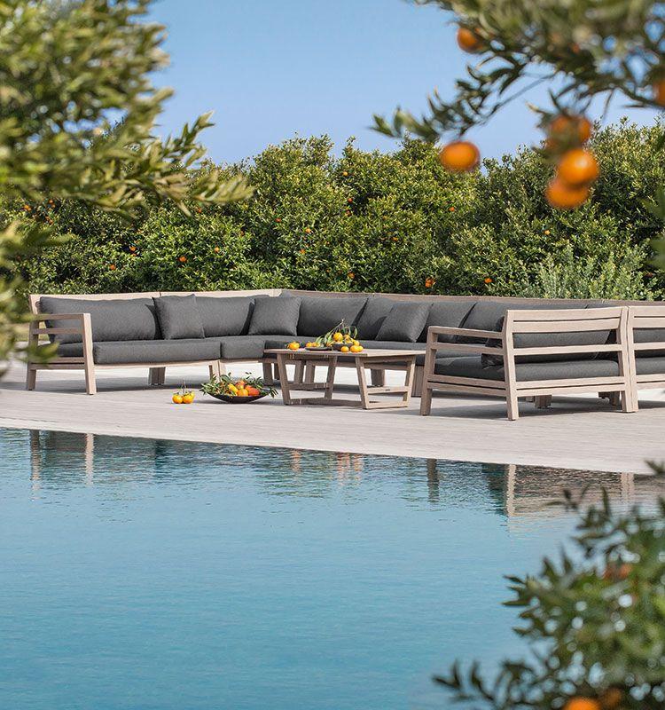 Cuscino Design di forma rettangolare - cuscino resistente e comodo Ethimo