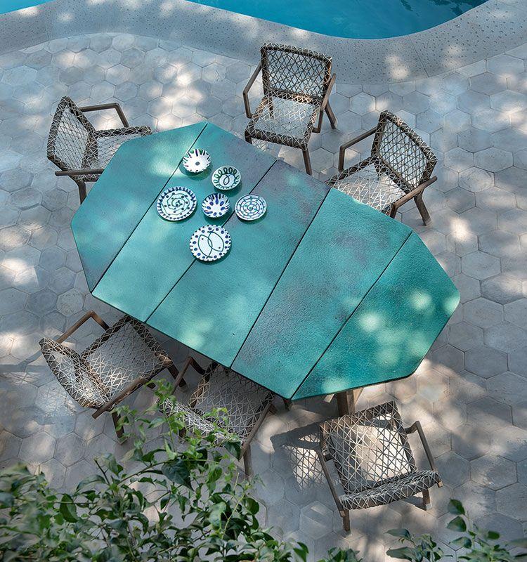 Rafael - Sedia dining - Sedia dining in teak Ethimo