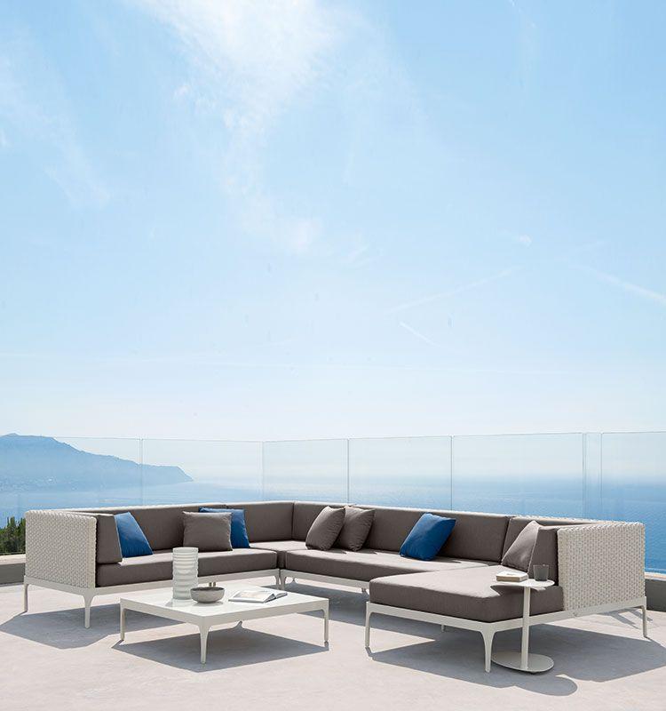 Infinity – Modulo chaise longue - Modulo chaise longue Ethimo