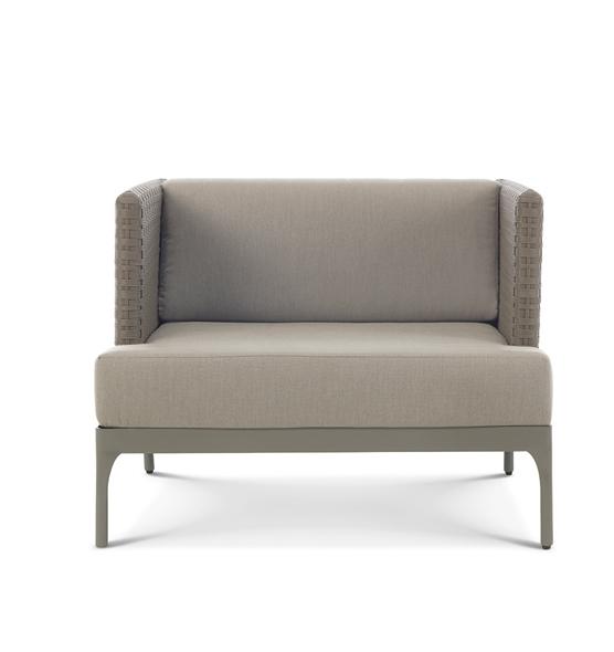 Infinity – Poltrona lounge - Poltrona lounge da giardino Ethimo