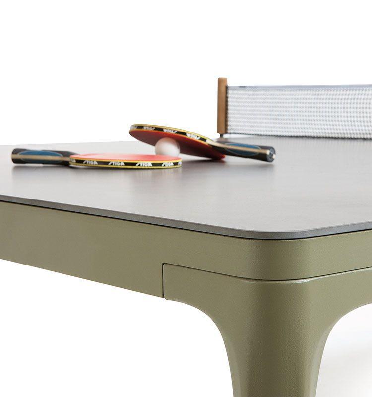 Play - Tavolo dining o da Ping pong - Tavolo 152,5x274 Ethimo