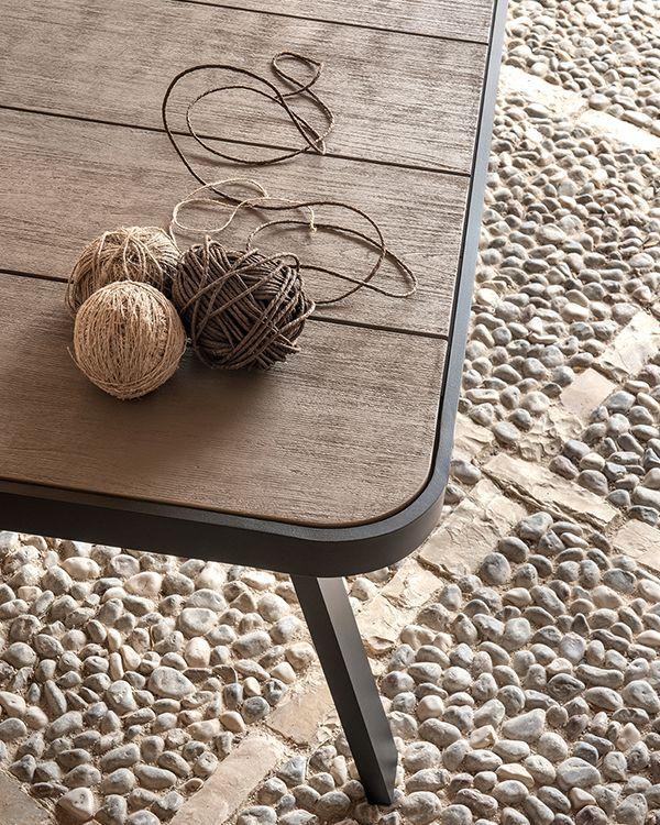 Swing – Tavolo dining 240x100cm - Tavolo dining rettangolare Ethimo